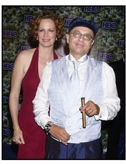 Joe Pantialano and wife Nancy at the HBO party following the 55th Annual Primetime Emmy Awards