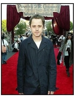 """ONE TIME USE ONLY: Giovanni Ribisi at the """"Pirates of the Caribbean: The Curse of the Black Pearl"""" World Premiere"""