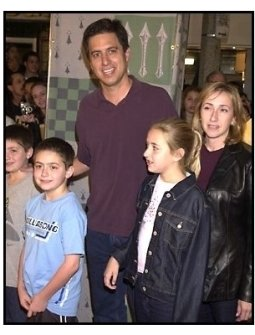 Ray Romano and family at the Harry Potter premiere