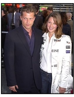 Til Schweiger and date at the Driven premiere