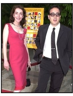 Jane Adams and Michael Panes at The Anniversary Party premiere