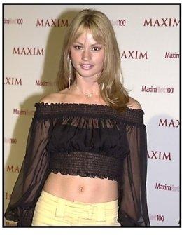 Cameron Richardson at the Maxim Hot 100 Party