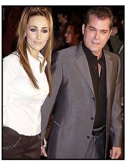 Ray Liotta and wife at the Heartbreakers premiere