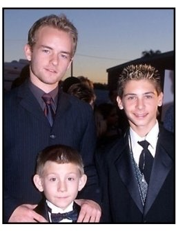Erik Per Sullivan, Christopher Masterson and Justin Berfield at the 2000 Hollywood Reporter YoungStar Awards