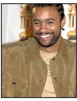Shaggy backstage at the 2001 Soul Train Music Awards