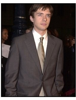 Topher Grace at the Traffic premiere