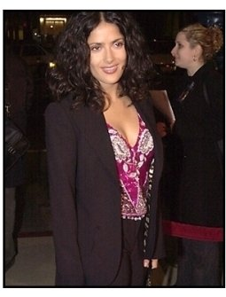 Salma Hayek at the Traffic premiere
