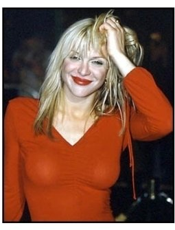 Courtney Love at The Grinch premiere