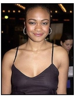 Tatyana Ali at The Brothers premiere