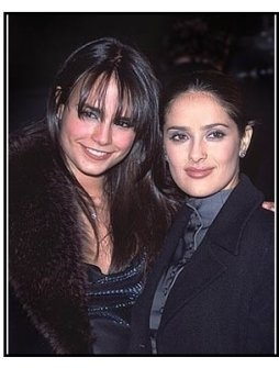 "Jordana Brewster and Salma Hayek at ""The Faculty"" Premiere"