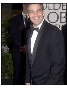 George Clooney at the 2001 Golden Globe Awards