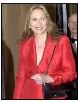 Faye Dunaway at the 2001 Golden Globe DreamWorks/ Universal Party