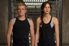 Jennifer Lawrence, Josh Hutcherson, Hunger Games