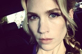 January Jones, Instagram