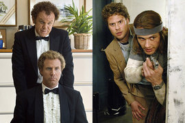 Will Ferrell, John C. Reilly, James Franco, Seth Rogen