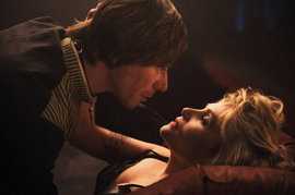 Venus in Fur, Mathieu Amalric and Emmanuelle Seigner