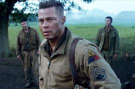 Fury, Brad Pitt