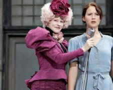 The Hunger Games: Elizabeth Banks, Jennifer Lawrence