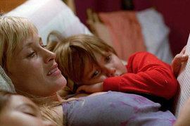 Boyhood, Patricia Arquette and Ellar Coltrane