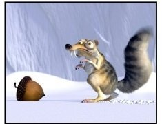Ice Age movie still: Scat's one mission in life is to retrieve a precious acorn