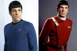 Star Trek, Zachary Quinto, Leonard Nimoy