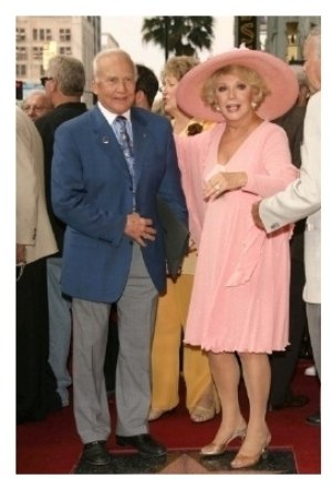 Buzz Aldrin and Ruta Lee