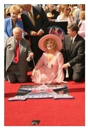 Johnny Grant, Debbie Reynolds, Alex Trebek, Ruta Lee and Leron Gubler