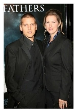 Barry Pepper and wife Cindy