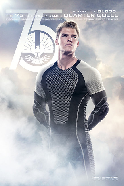 Hunger Games: Catching Fire Poster Gloss