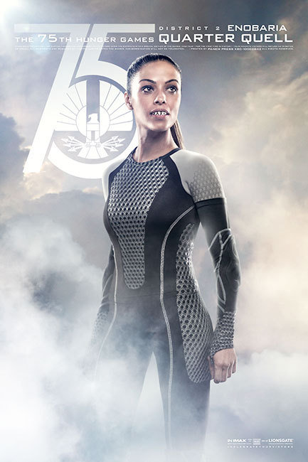 The Hunger Games: Catching Fire, Enobaria