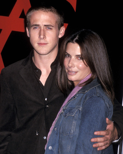 Sandra Bullock and Ryan Gosling