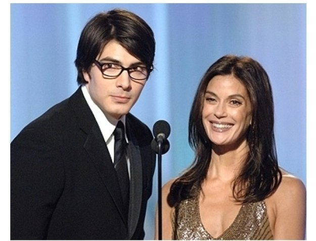 63rd Golden Globes Stage Photos: Brandon Routh and Teri Hatcher
