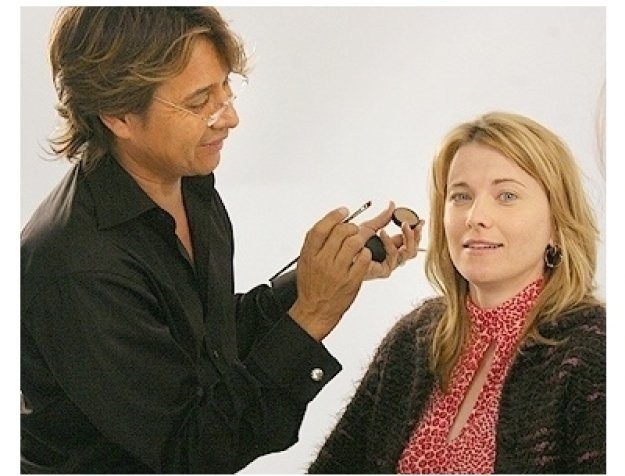 Lucy Lawless Photo Shoot: Daryl Redleaf and  Lucy Lawless