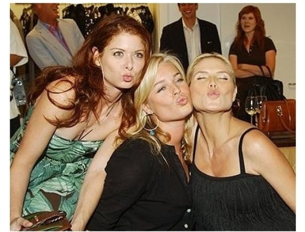 "Heidi Klum and Michael Kors Host ""Project: Runway"" Party Photos:  Debra Messing, Rebecca Romijn and Heidi Klum"