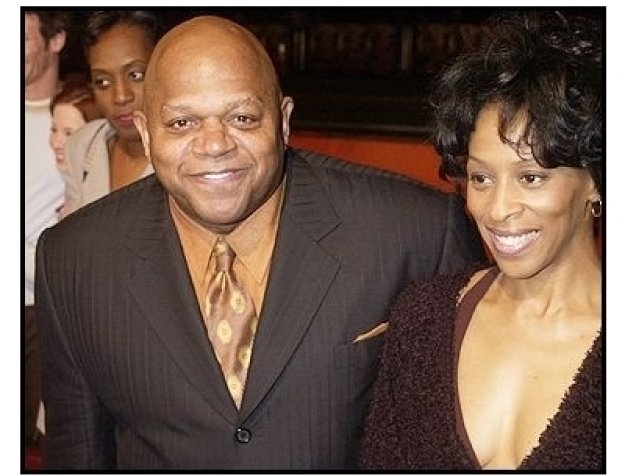 """Charles S. Dutton and wife Debbi at the """"Against the Ropes"""" Premiere"""