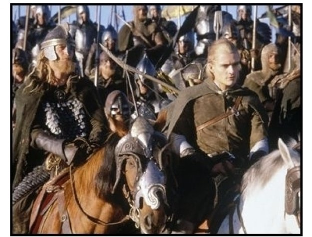 """""""The Lord of the Rings: The Return of the King"""" Movie Still: Orlando Bloom"""