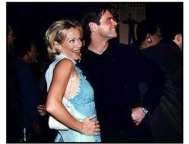 Liar Liar premiere: Jim Carrey and Lauren Holly at the Liar Liar premiere