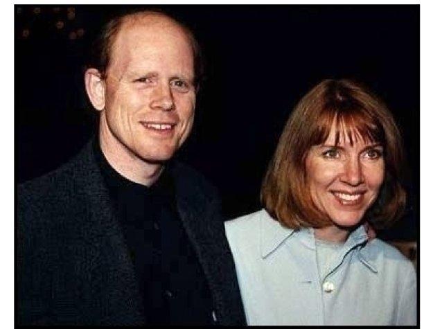 Liar Liar premiere: Ron Howard and wife at the Liar Liar premiere