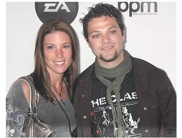Bam Margera (right) and guest