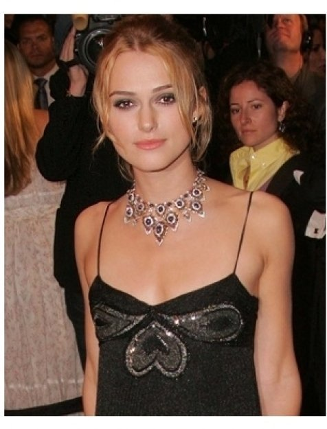 Kiera Knightley at the 2006 Vanity Fair Oscar Party