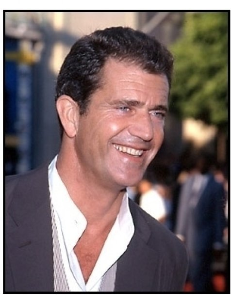 Mel Gibson at the Lethal Weapon 4 premiere