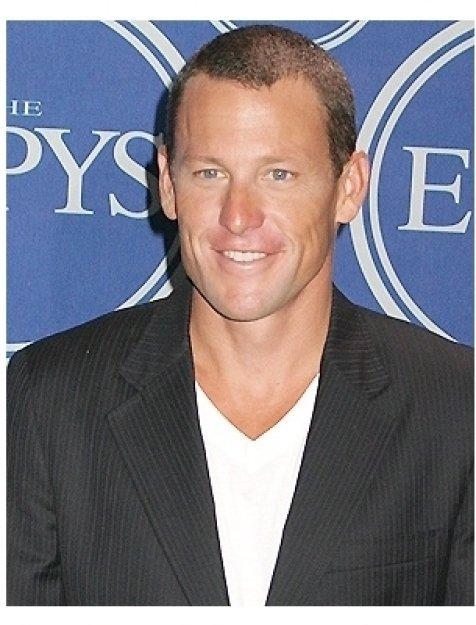 Lance Armstrong, host and winner of Best Male Athlete