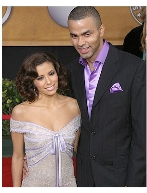2006 SAG Awards Fashion Photo: Eva Longoria with Tony Parker