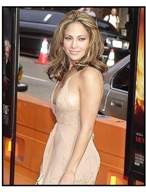 "Jennifer Lopez at the ""Man on Fire"" Premiere"