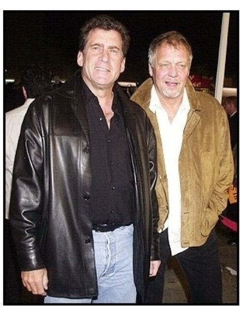 "Paul Michael Glazer and David Soul at the ""Starsky & Hutch"" Premiere"
