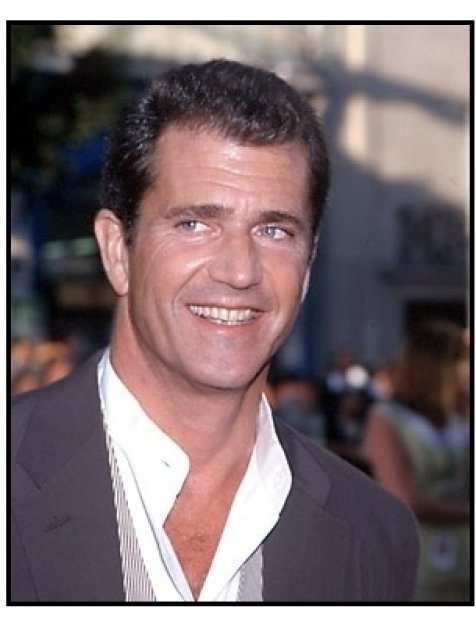 Mel Gibson at the Lethal Weapon 4 premiere 2