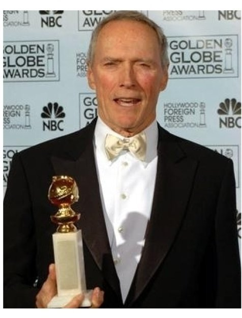 Clint Eastwood at the 62nd Annual Golden Globe Awards: Press Room