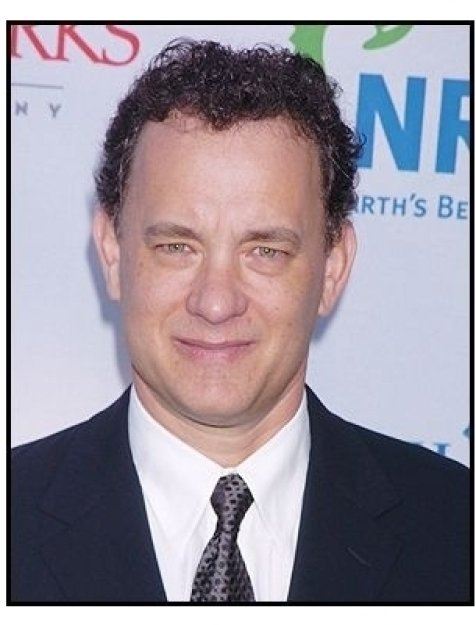 Tom Hanks at the Natural Resources Defense Council  Benefit