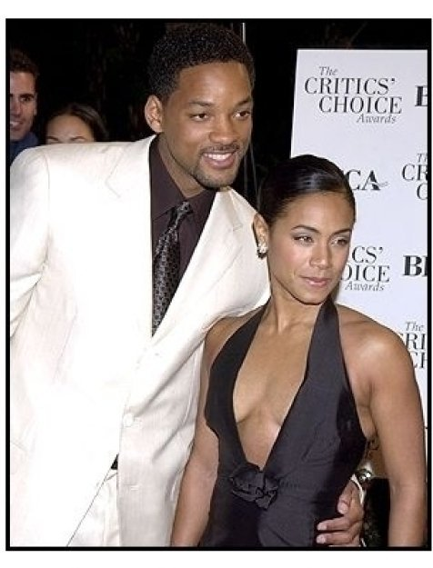 Will Smith and Jada Pinkett Smith at the 2002 Broadcast Film Critic's Choice Awards