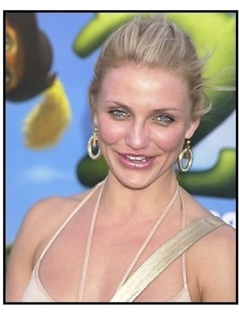 "Cameron Diaz at the ""Shrek 2"" Premiere"